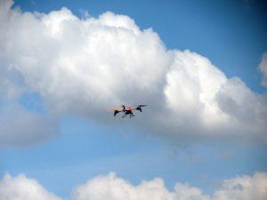 Quadrocopter in der Luft