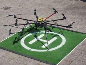 Octacopter / Drohne Start / Landeplatz